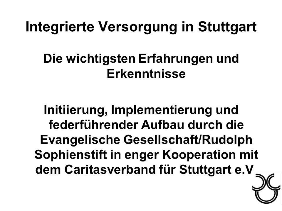 Integrierte Versorgung in Stuttgart