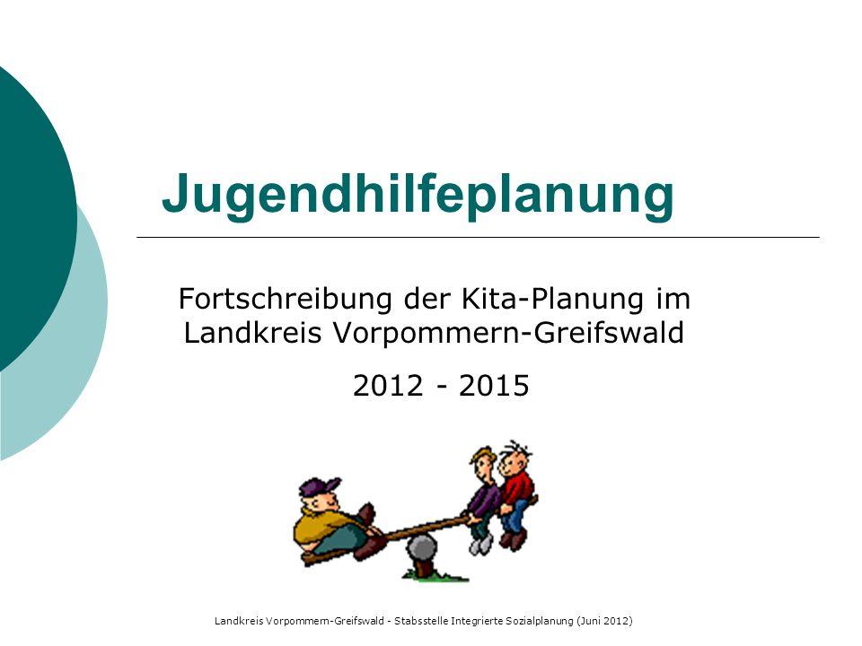 Fortschreibung der Kita-Planung im Landkreis Vorpommern-Greifswald