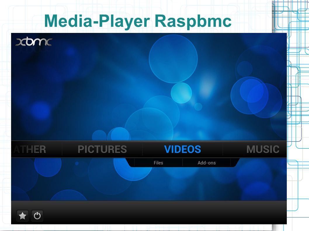 Media-Player Raspbmc