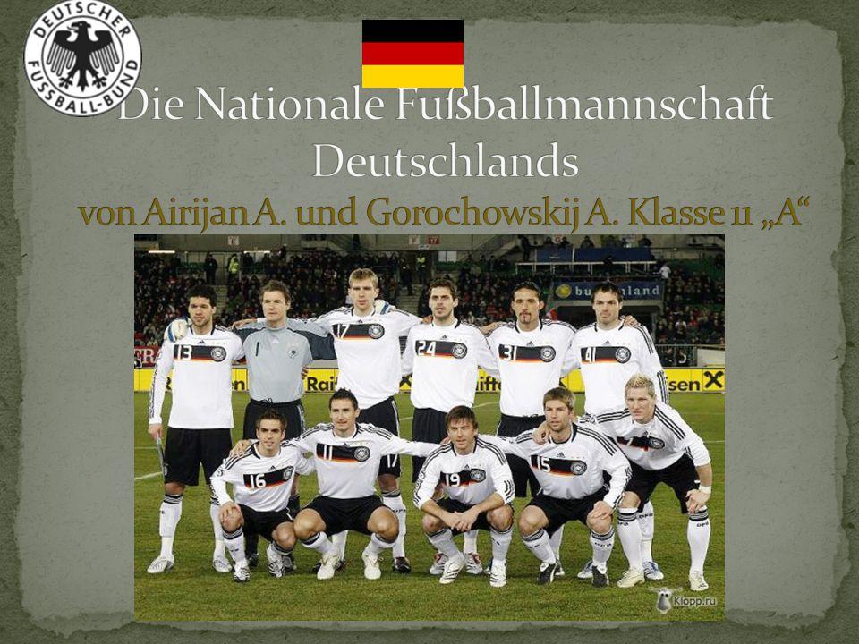 Die Nationale Fußballmannschaft Deutschlands von Airijan A