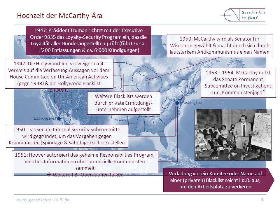 Hochzeit der McCarthy-Ära