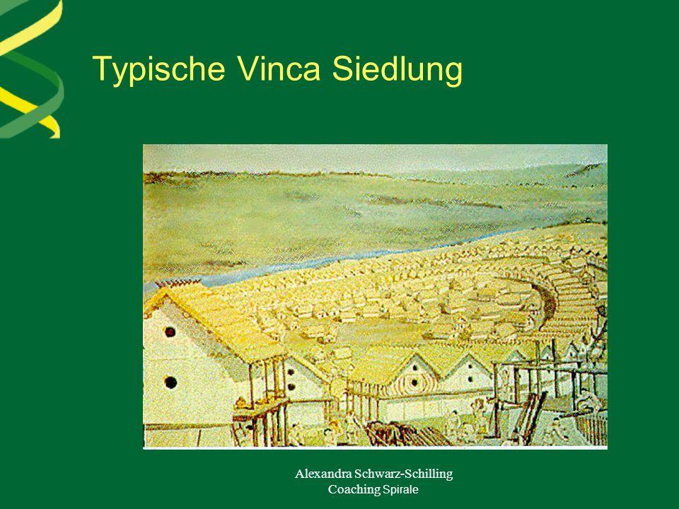 Typische Vinca Siedlung