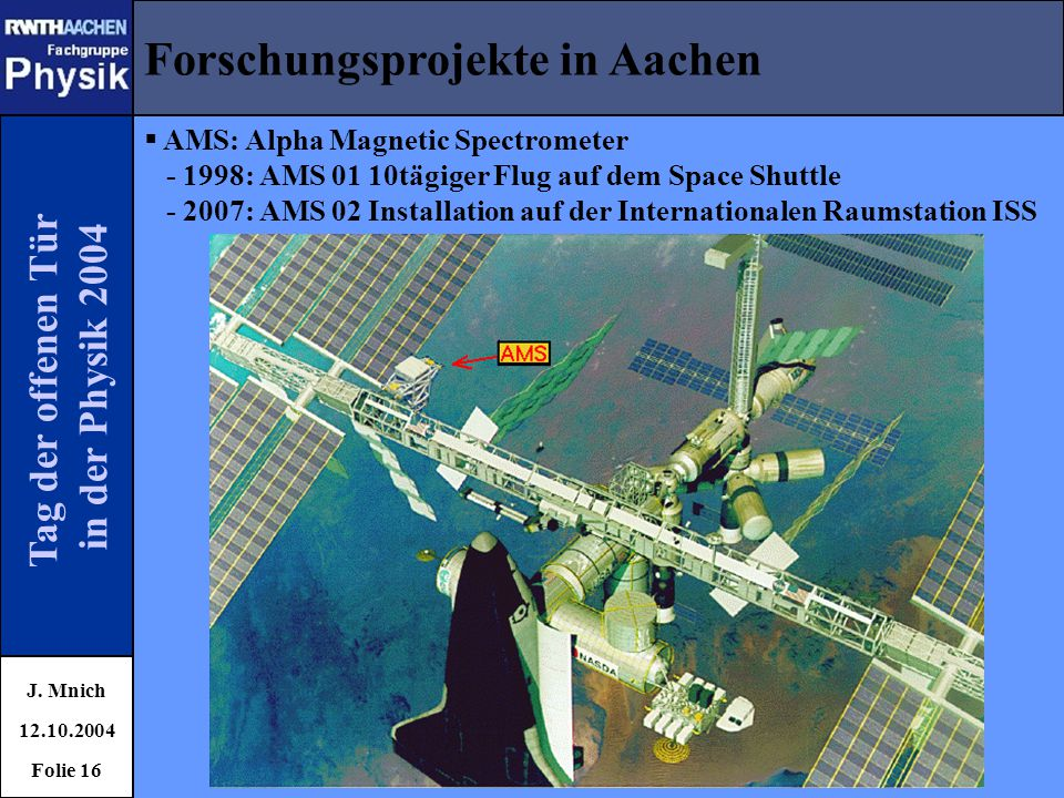 Forschungsprojekte in Aachen