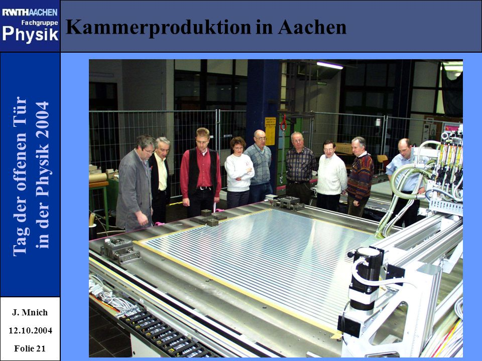 Kammerproduktion in Aachen