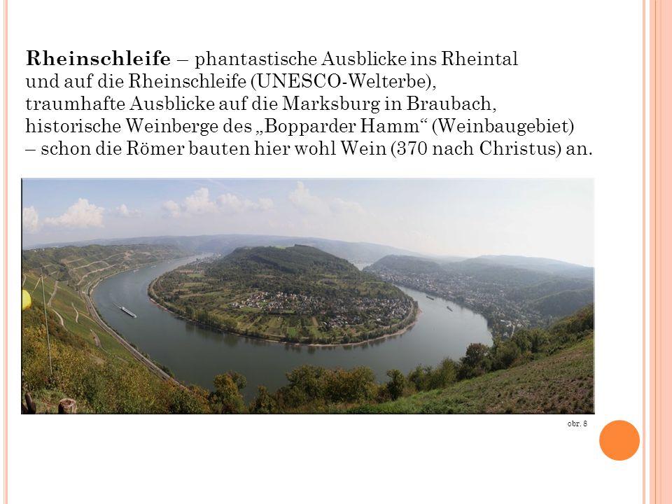 Rheinschleife – phantastische Ausblicke ins Rheintal
