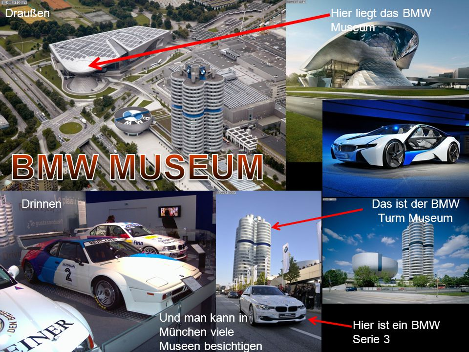 Das ist der BMW Turm Museum