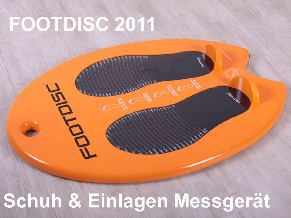 FOOTDISC 2011 Schuh & Einlagen Messgerät