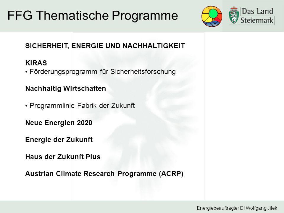 FFG Thematische Programme