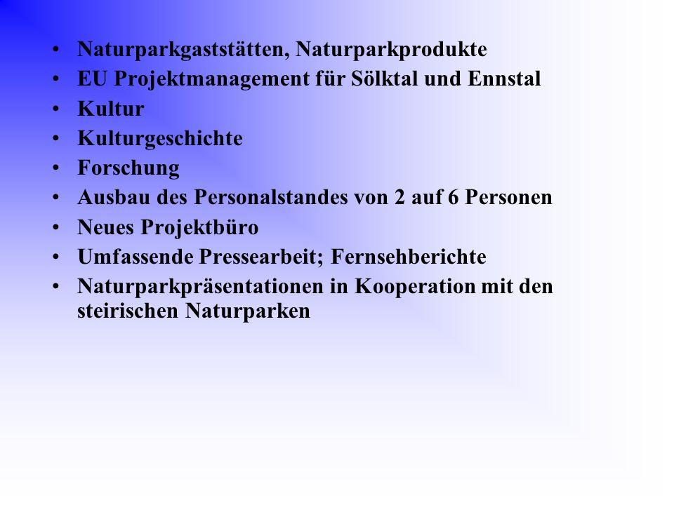 Naturparkgaststätten, Naturparkprodukte