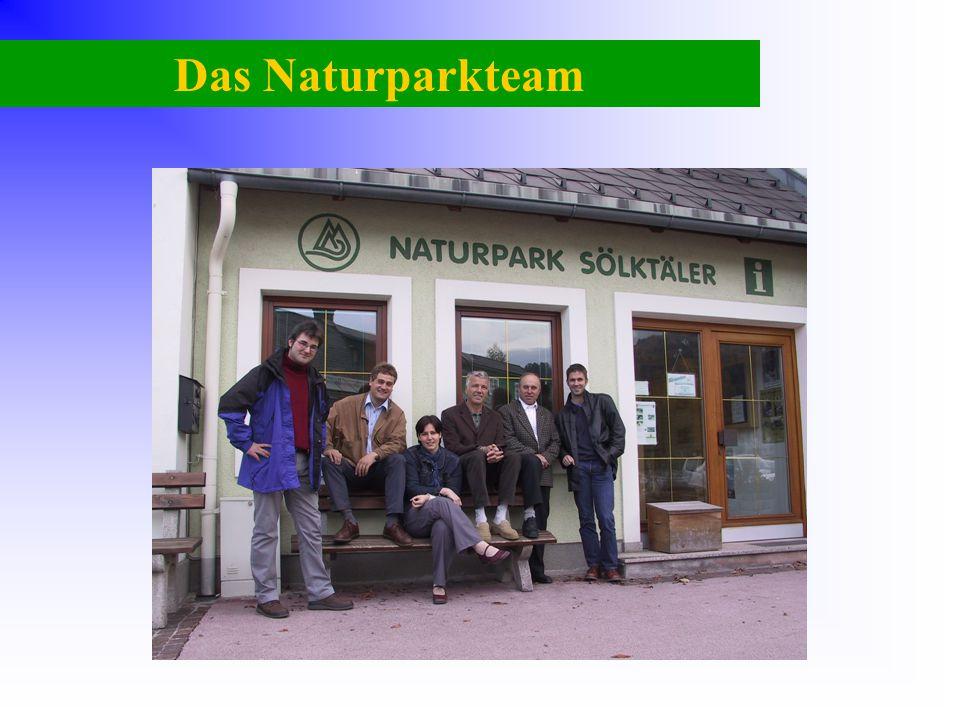 Das Naturparkteam