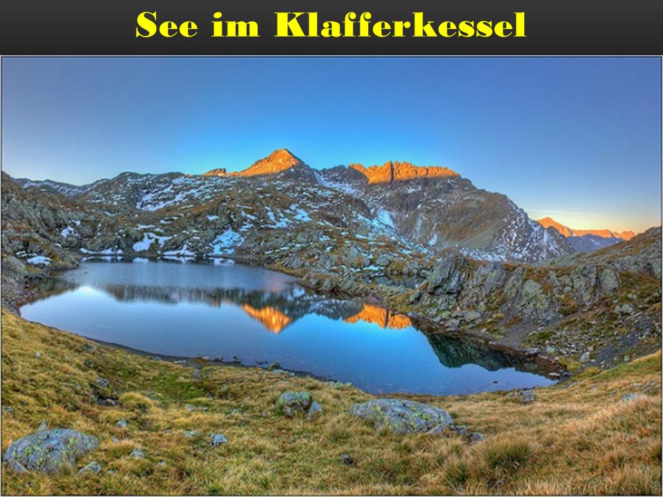 See im Klafferkessel