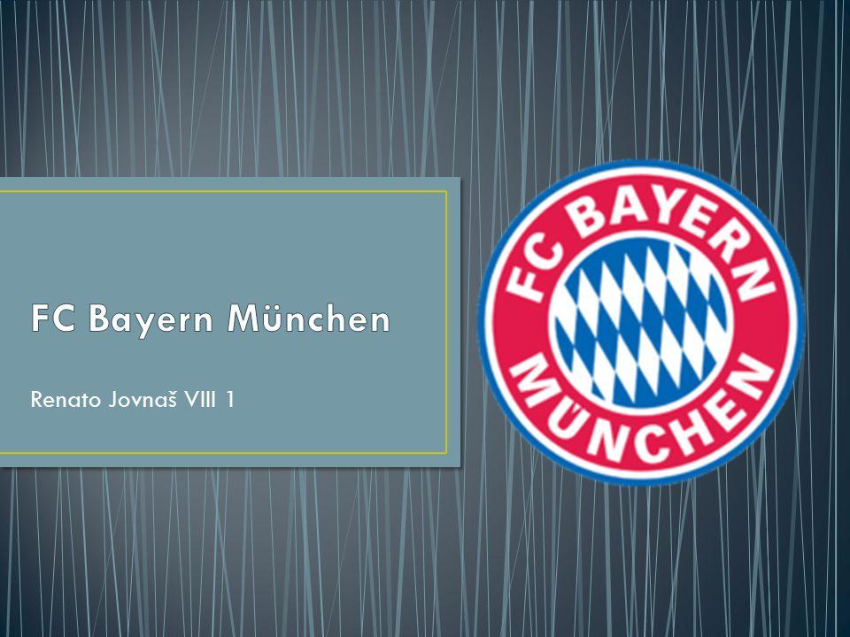 FC Bayern München Renato Jovnaš VIII 1