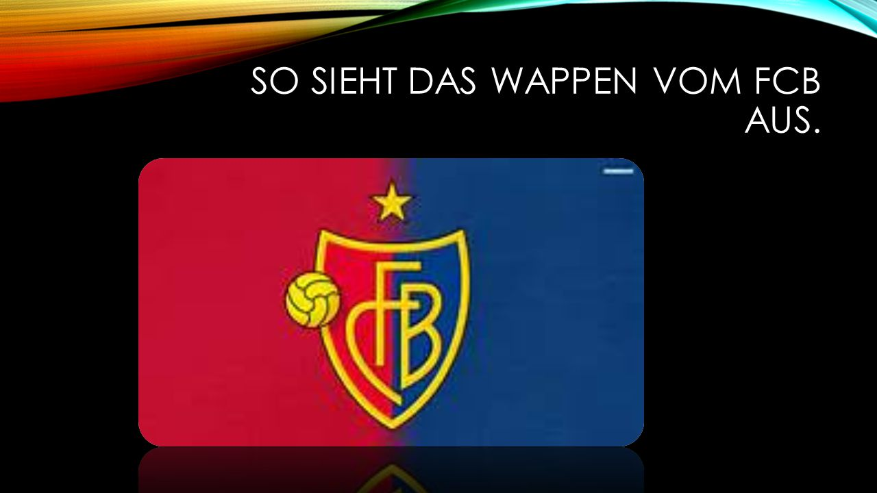 So sieht das Wappen vom FCB aus.