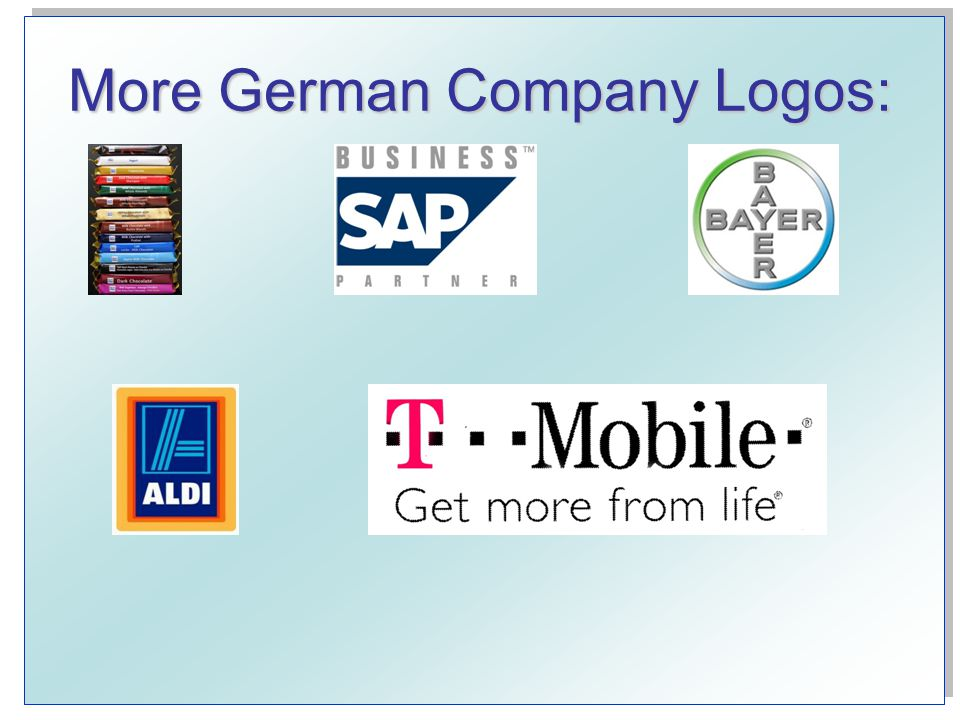 More German Company Logos: