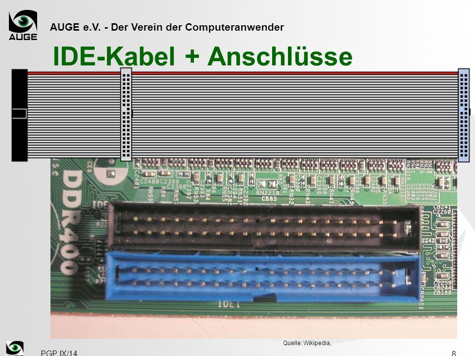 IDE-Kabel + Anschlüsse