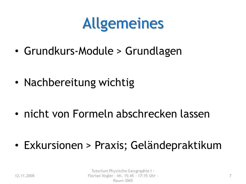 Allgemeines Grundkurs-Module > Grundlagen Nachbereitung wichtig