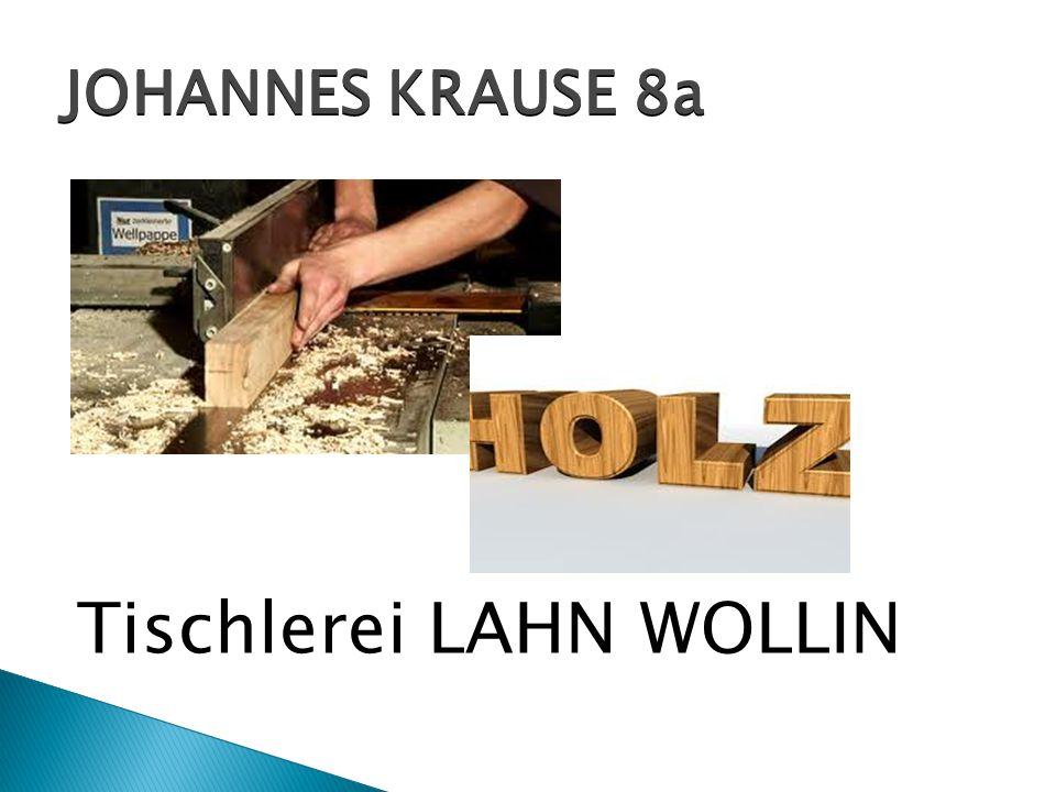 Tischlerei LAHN WOLLIN