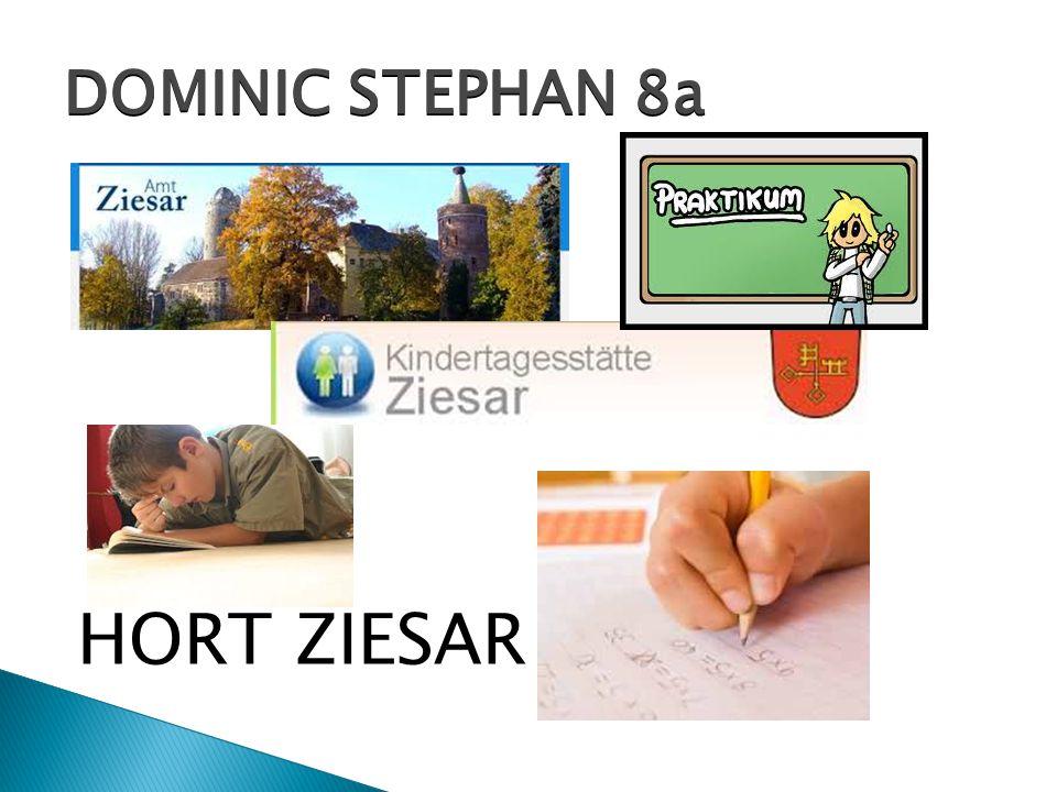 DOMINIC STEPHAN 8a HORT ZIESAR