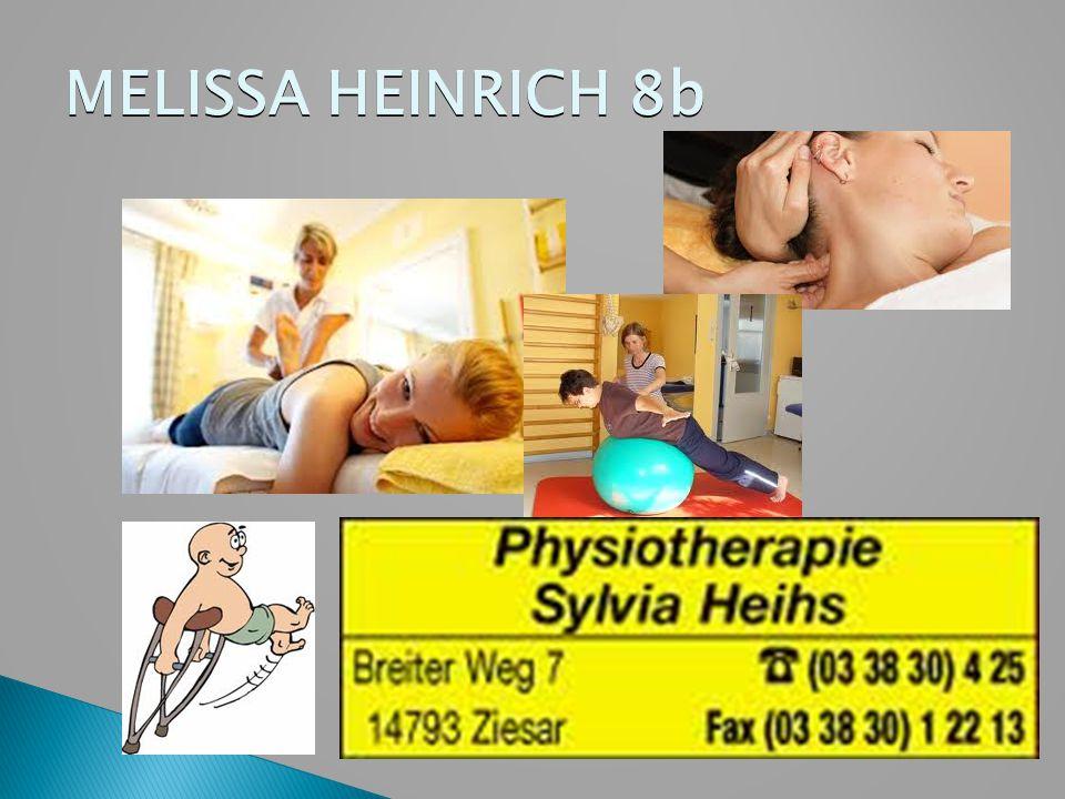 MELISSA HEINRICH 8b