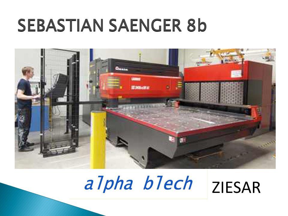 SEBASTIAN SAENGER 8b alpha-blech ZIESAR