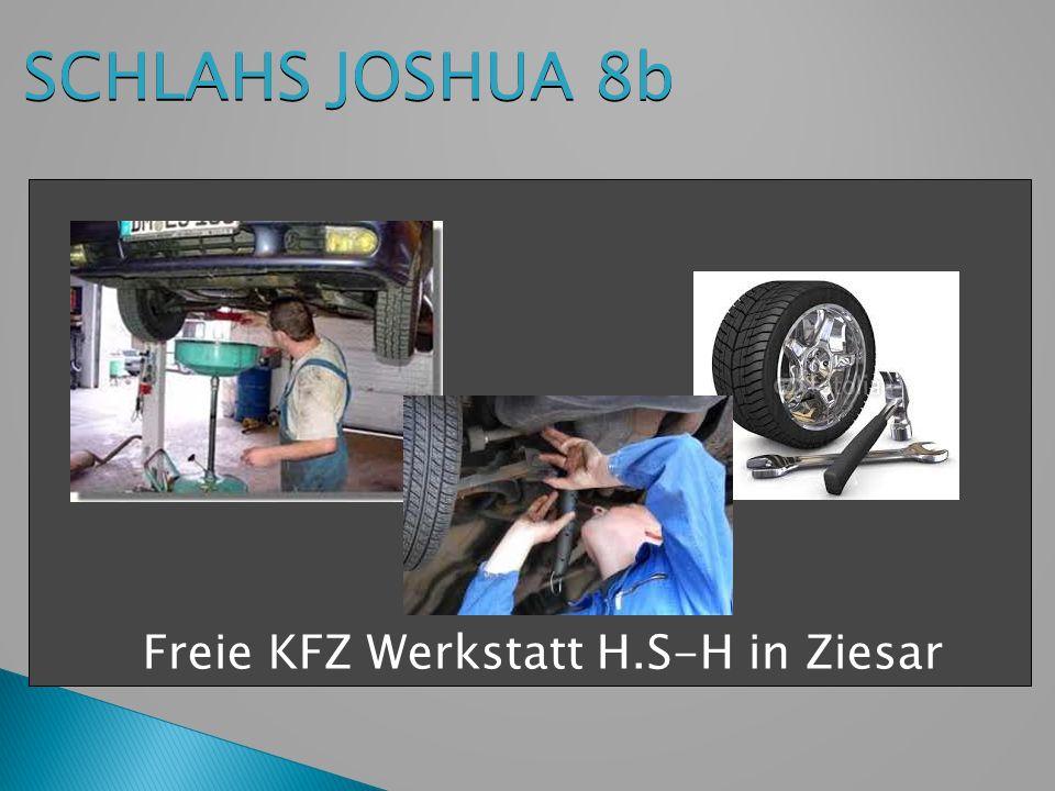 SCHLAHS JOSHUA 8b Freie KFZ Werkstatt H.S-H in Ziesar