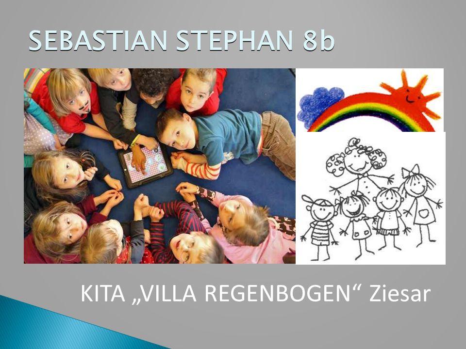 """SEBASTIAN STEPHAN 8b KITA """"VILLA REGENBOGEN Ziesar"""