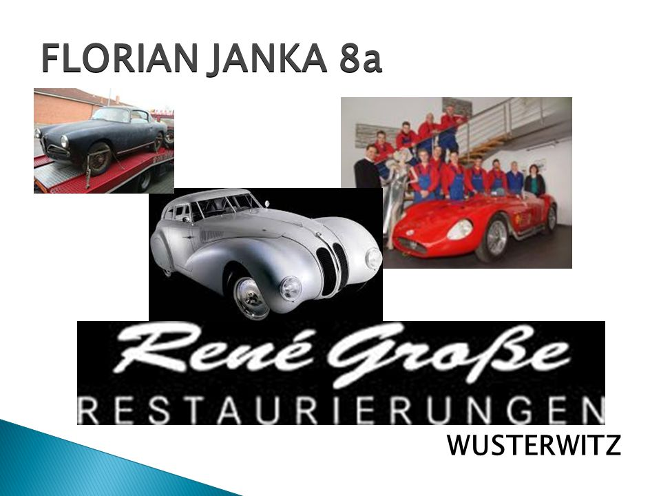 FLORIAN JANKA 8a WUSTERWITZ