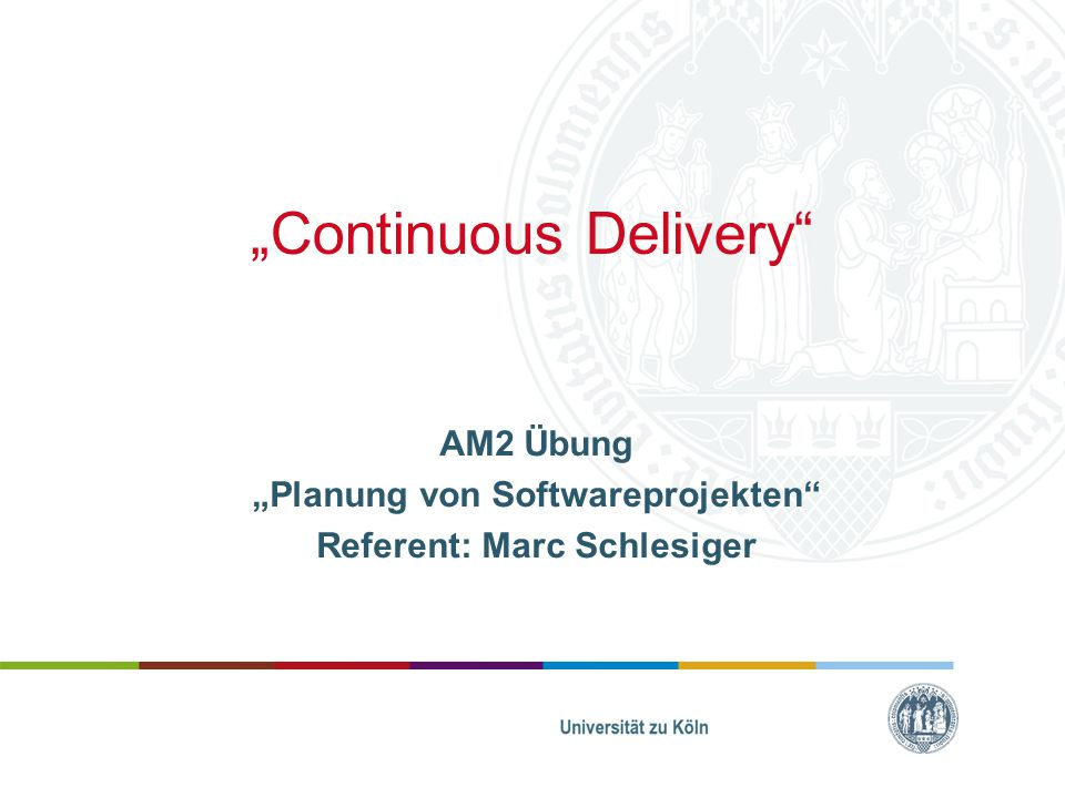 """""""Continuous Delivery"""