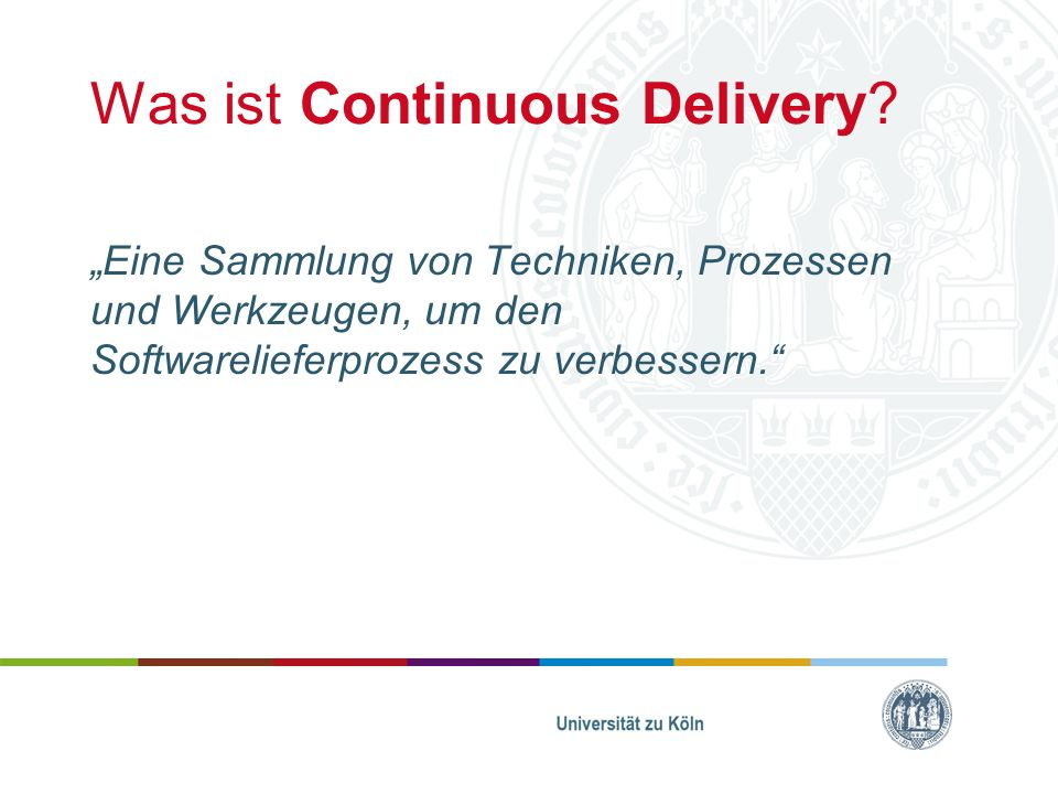 Was ist Continuous Delivery