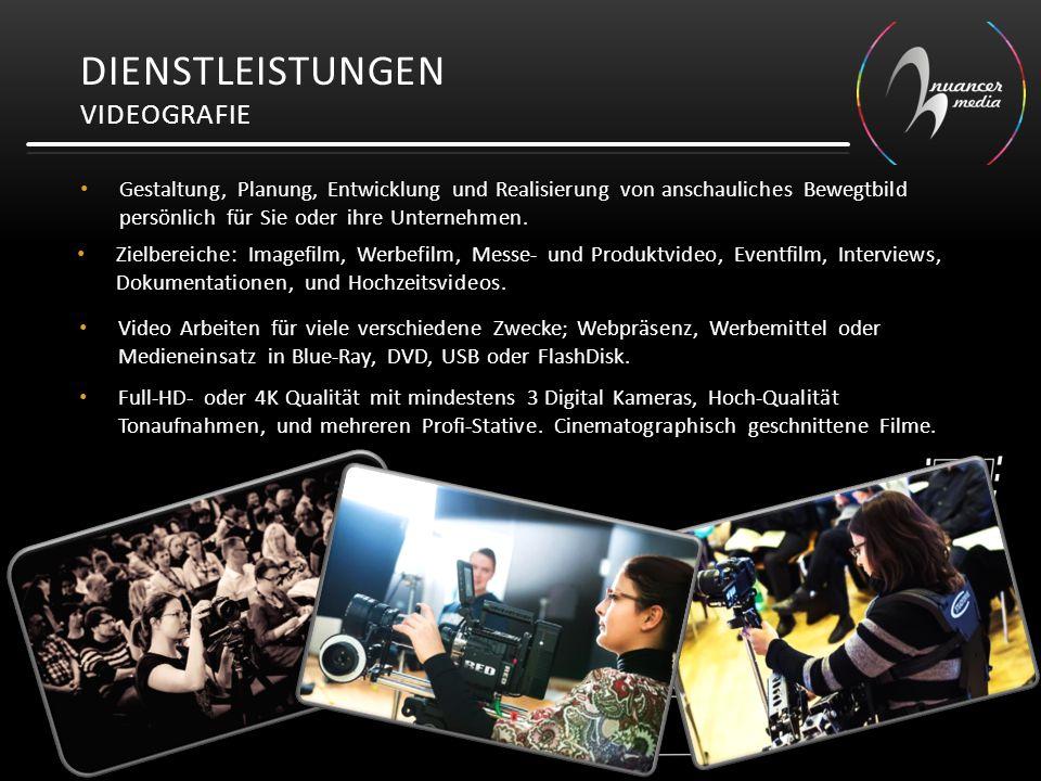 Dienstleistungen Videografie