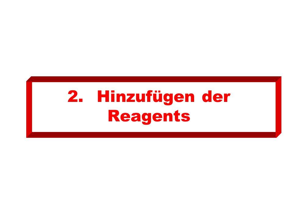 2. Hinzufügen der Reagents
