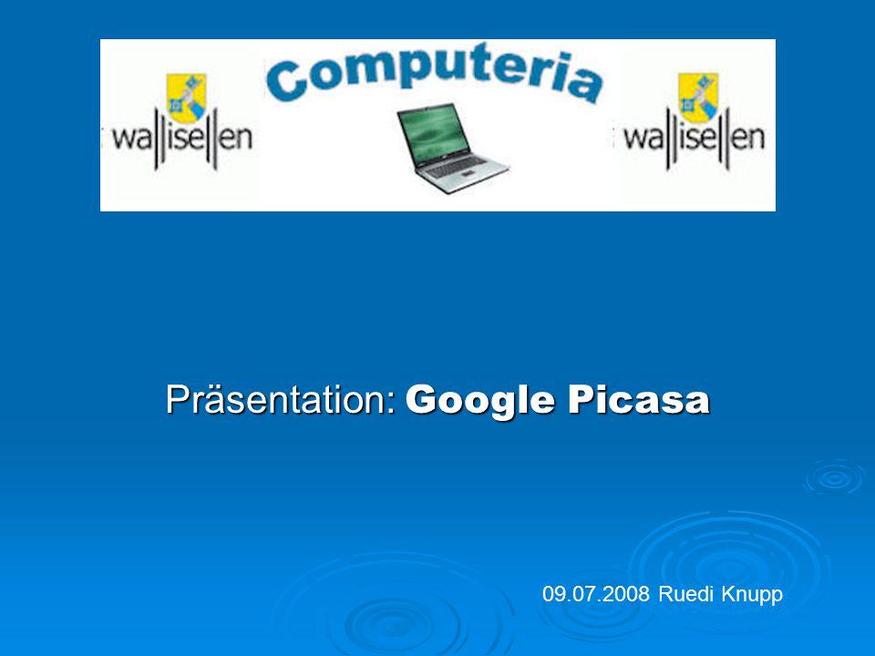 Präsentation: Google Picasa