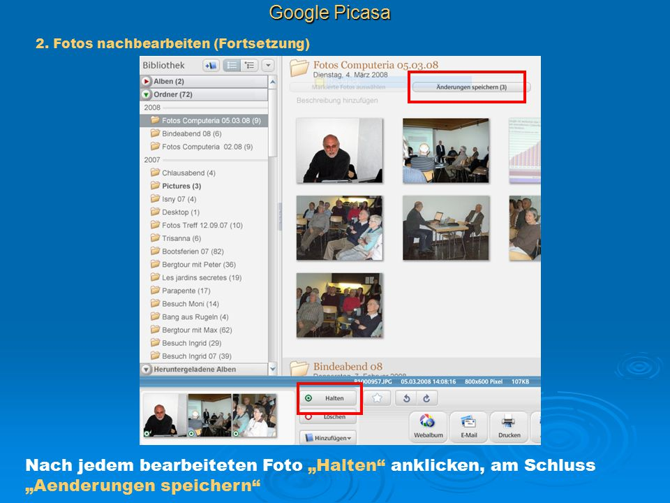 Google Picasa 2.