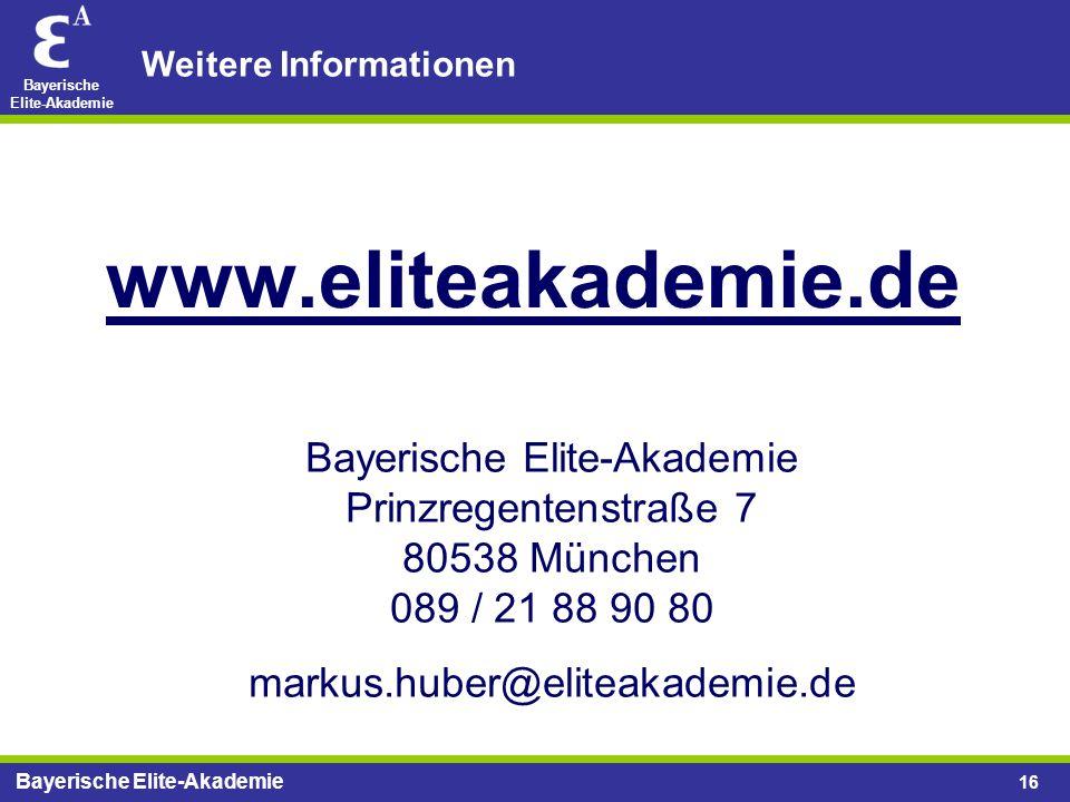 Bayerische Elite-Akademie