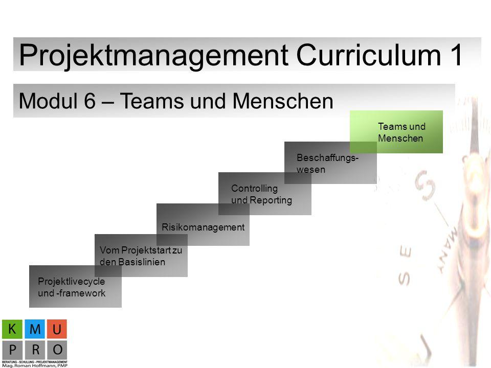 Projektmanagement Curriculum 1