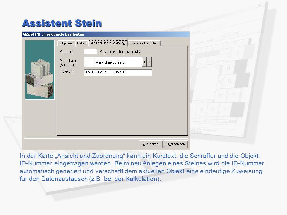 Assistent Stein