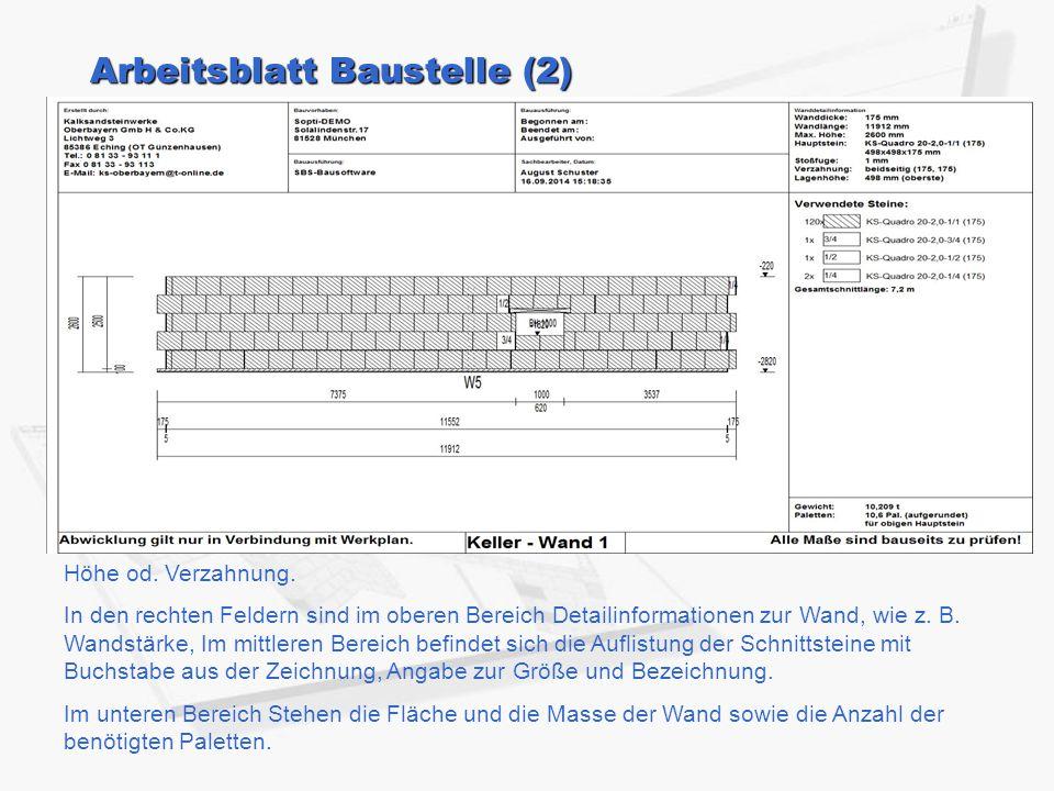 Arbeitsblatt Baustelle (2)