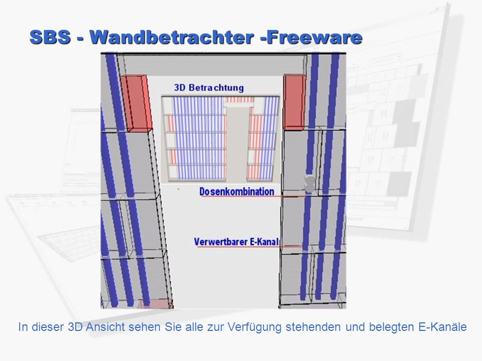 SBS - Wandbetrachter -Freeware