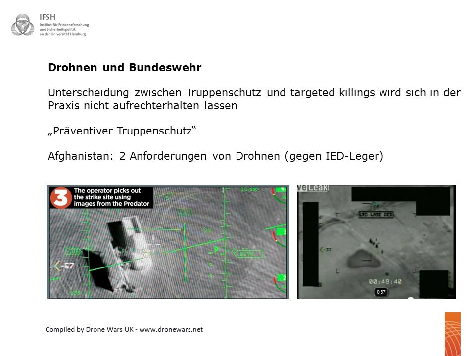 Drohnen und Bundeswehr