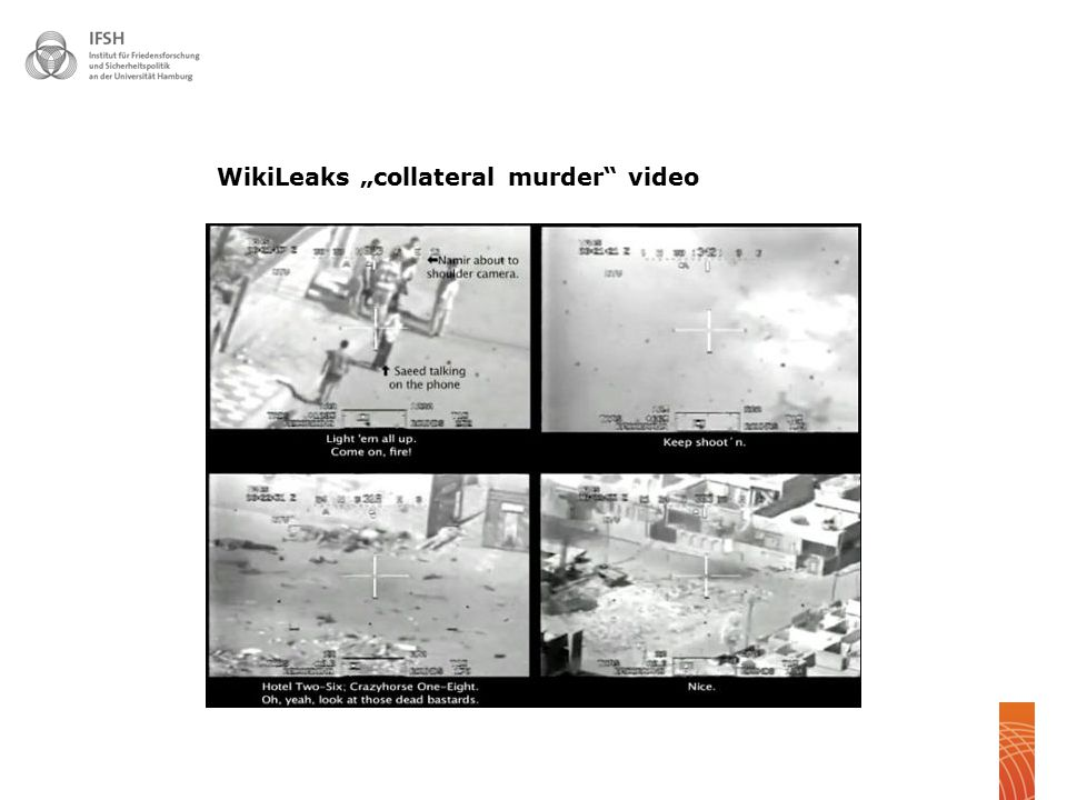 "WikiLeaks ""collateral murder video"