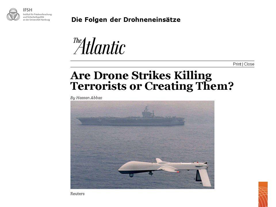 Die Folgen der Drohneneinsätze