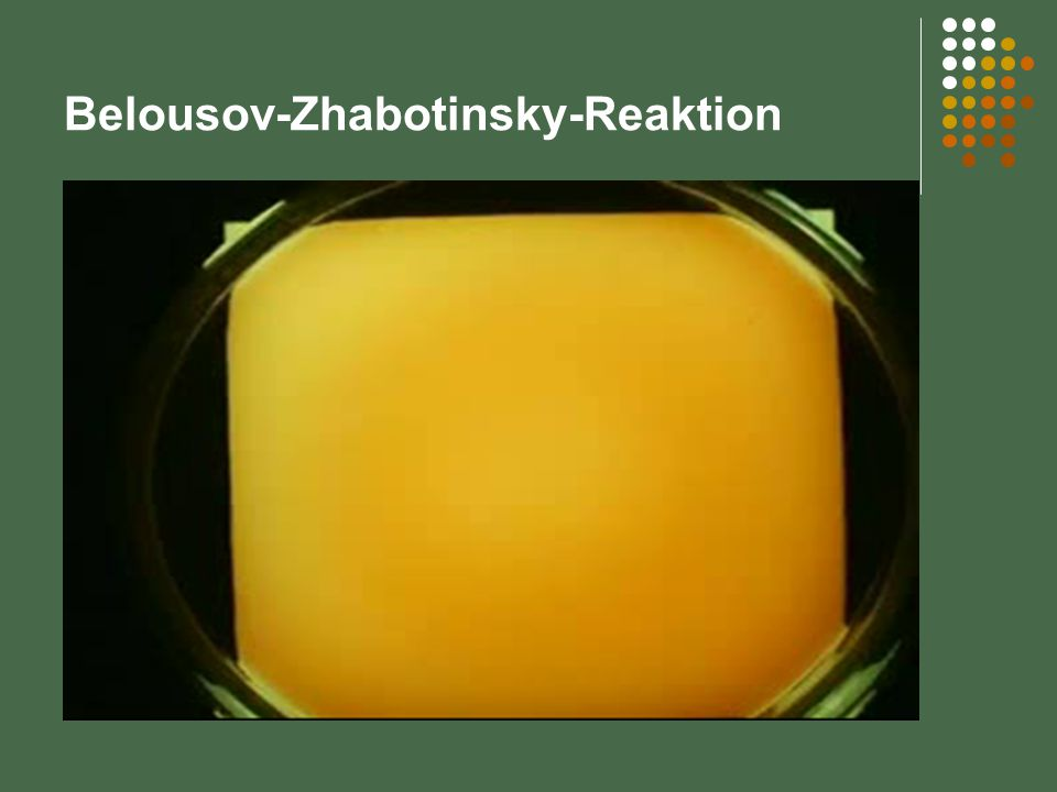 Belousov-Zhabotinsky-Reaktion