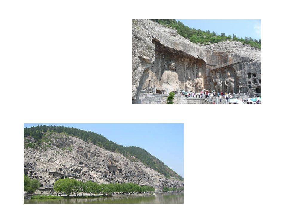 Luoyang, Lungmen-shan-Höhlen