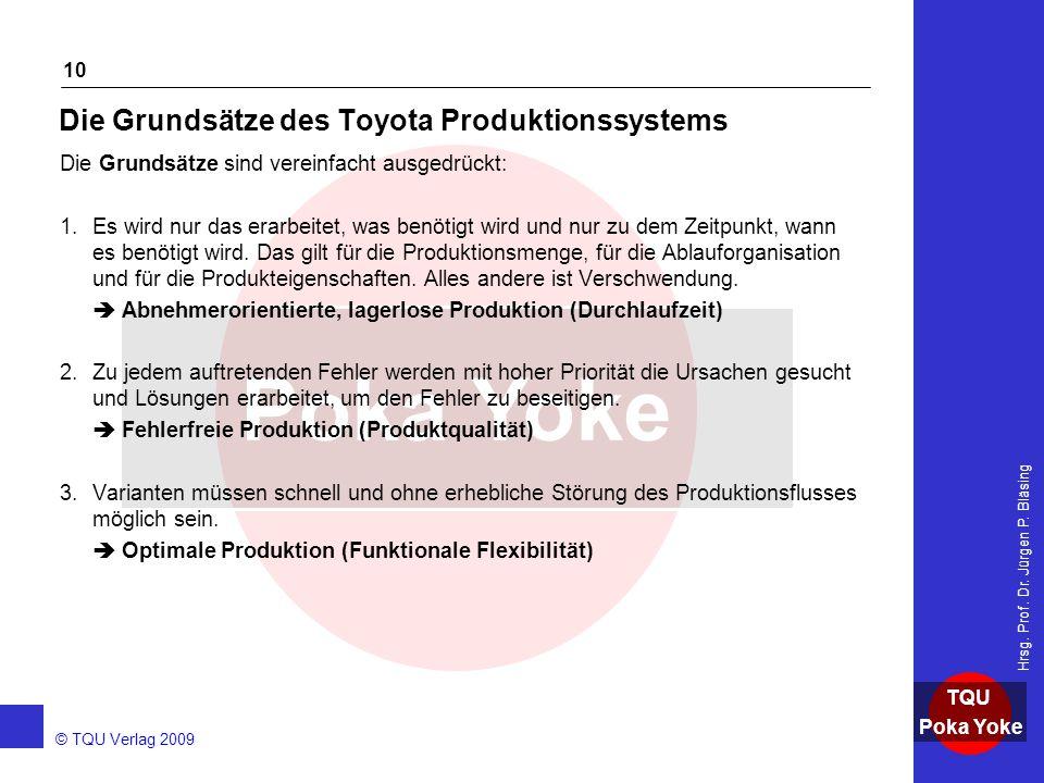 Die Grundsätze des Toyota Produktionssystems