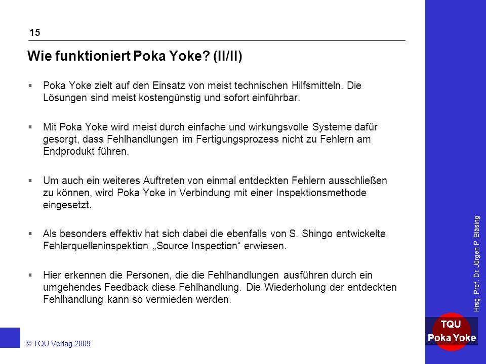 Wie funktioniert Poka Yoke (II/II)