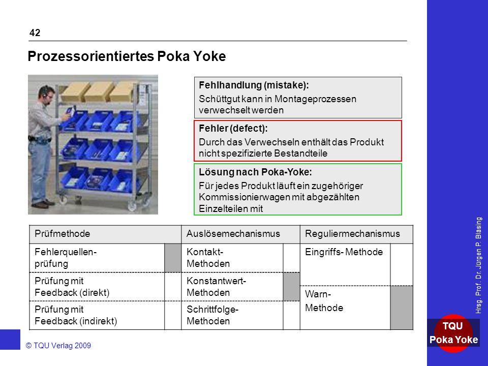 Prozessorientiertes Poka Yoke