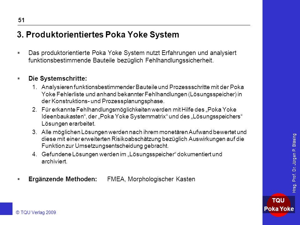 3. Produktorientiertes Poka Yoke System