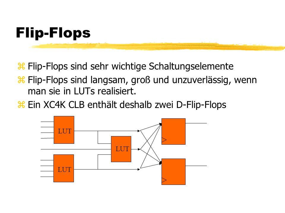 Flip-Flops Flip-Flops sind sehr wichtige Schaltungselemente