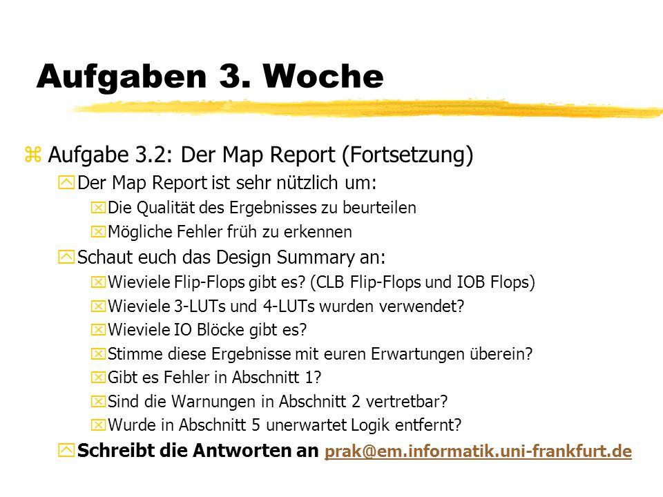 Aufgaben 3. Woche Aufgabe 3.2: Der Map Report (Fortsetzung)