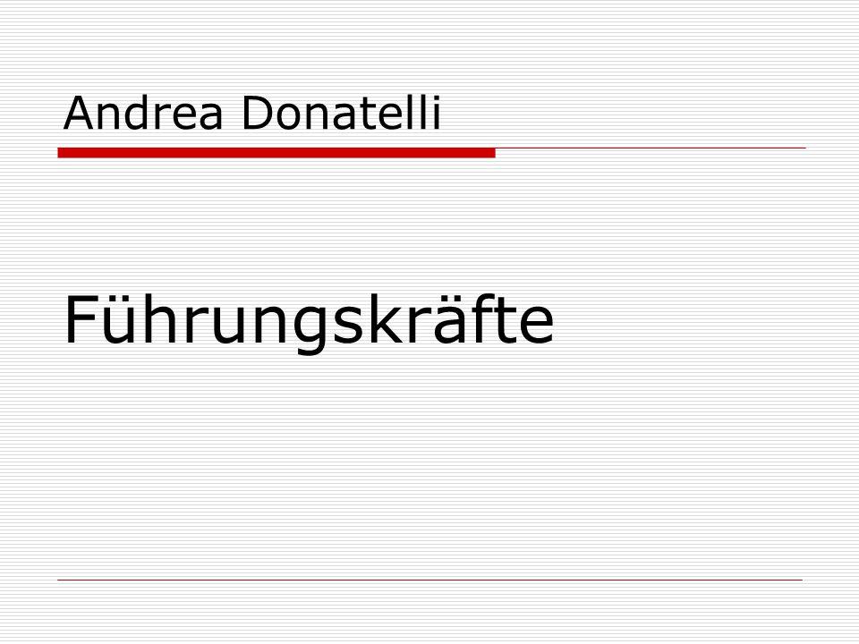 Andrea Donatelli Führungskräfte